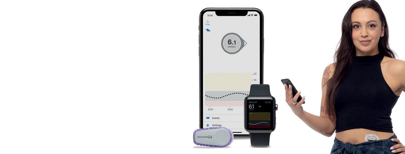 Diabetes, Dexcom, G6, G5, 糖尿病, 糖尿